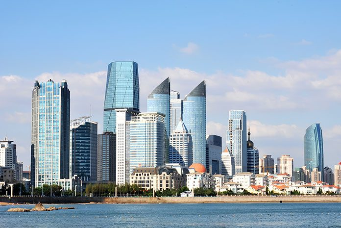 ARACON, M&A consulting China, skyline over Qingdao